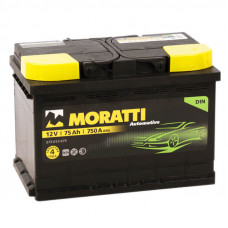 Аккумулятор  Moratti 75а/ч о.п.