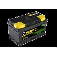 Аккумулятор Moratti 85а/ч о.п. Низкий
