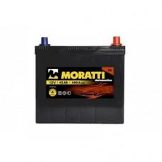 Аккумулятор Moratti JIS 45а/ч о.п.