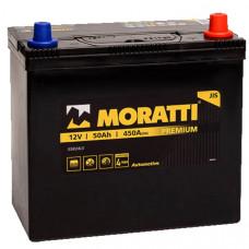 Аккумулятор Moratti JIS 50а/ч о.п.