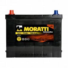 Аккумулятор Moratti JIS 75а/ч п.п.